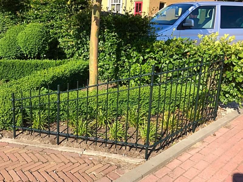 Verwonderlijk Smeedijzeren tuinhek in Woerdense Verlaat - Kunstsiersmederij HX-85